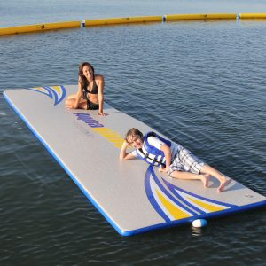 Aquaglide Splashmat - swim raft - tanning - on the water fun - water toys canada