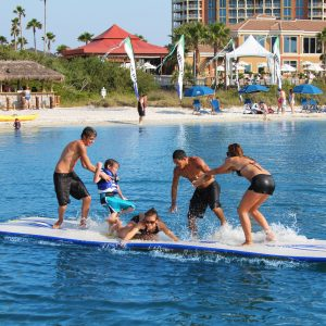 Splash mat - water play - swim raft - fun for the family - water toys canada