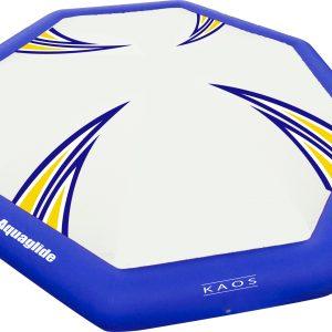 Kaos water bouncer - resort fun - water trampoline - water toys canada