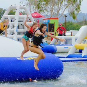 Kaos bouncer - on the water fun - water toys canada