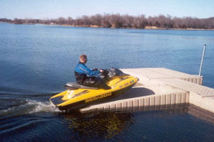 SWIM RAFTS AND DOCKING SYSTEMS