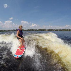 wakesurf - Laguna Wakesurf board by Connelly - on the water fun - water toys canada