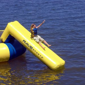 inflatable slide, Rave Aqua slide