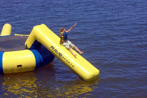 inflatable slide, Rave Aqua slide