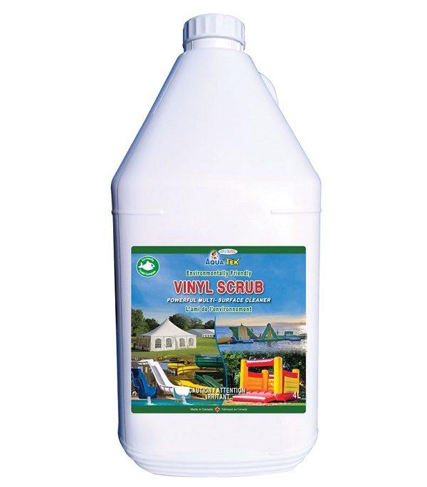 Environmentally friendly cleaner, Aqua Tek Vinyl Scrub